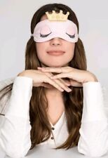 PJ SALVAGE Sleeping Eye Mask Blush Pink Queen Crown New in package NEW