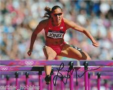 Lolo Jones USA Hurdles Autographed Signed 8x10 Photo COA