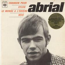 PATRICK ABRIAL Chanson Pour, Sylvie Le Monde A L'envers FR Press CBS EP 5776 EP
