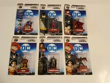 lot of 6 nano metalfigs DC comics batwoman batman joker robin superman