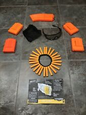 Nerf Clips Ammo and Protective Nerf Eyeware Lot 82