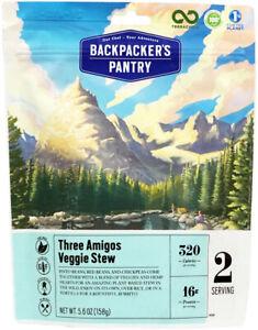 Backpacker's Pantry Three Amigos Veggie Stew - 2 Servings