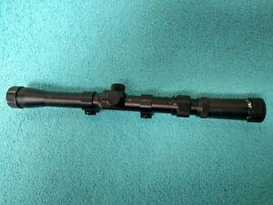 TASCO RF 3-7 X 20mm .22 Rimfire Rifle or Air Gun Black Scope with Rings    #5