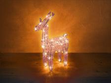 Rotpfeil Rentier Deko Dekoration Weihnachten Advent Licht Lampe 30 Ricebulbs