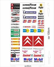 Citroen Autoaufkleber Sponsoren Marken Aufkleber Decals Tuning Sticker Set