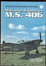 Morane MS 406 fighter  Keskinen & Stenman Finnish AF #4    sb