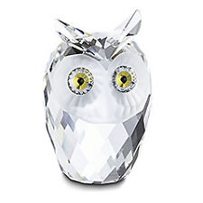 "SWAROVSKI SILVER CRYSTAL ""OWL, LARGE"" 010022 MINT IN BOX"