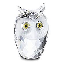"SWAROVSKI SILVER CRYSTAL ""OWL, LARGE"" 010022 MINT IN BOX"