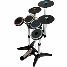 Nintendo Wii-u/Wii ROCK BAND 3 PRO-DRUM/PRO-CYMBAL drums set beatles 2 wireless
