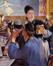 Corner In A Cafe Concert 1878 1879 A4 Print