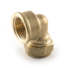 """ELBOWS -  Elbows - Imported 15 mm x 1?2"""" Compression x BSP Parallel Female"""