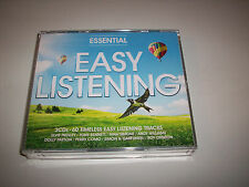 ESSENTIAL EASY LISTENING 3CD BOXSET(Elvis,Tony Bennett,Simon & Garfunkel etc)
