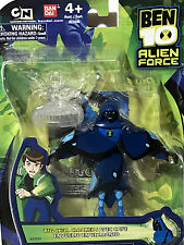 """Ben 10 - BIG CHILL CLOAKED - 4"""" Action Figure - ALIEN FORCE - 2010 NEW MOC"""