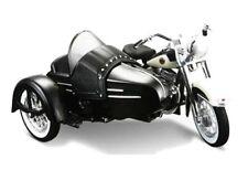 Maisto 1/18 1958 Harley Davidson FLH DUO Glide with side Car White Black (03176)