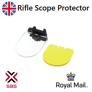 Airsoft rifle scope lens protector shield for red dot Acog sights 20mm rail
