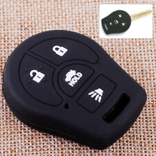 4 Buttons Car Remote Key Fob Cover Fit For Nissan Altima Rogue Sentra Micra Juke