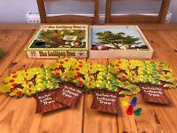 THE LOLLIPOP TREE 100% Complete LOLLIPOP  Board GAME 1970'S Vintage Peter Pan