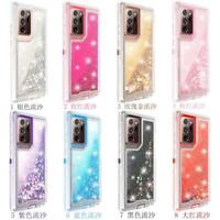 Gradient Glitter Bling Sparkle Case For Galaxy Note 20/20 Plus Fit Otterbox Clip
