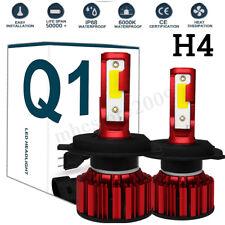 2X COB H4 HB2 9003 2100W 3250000LM LED Headlight Bulb Kit Hi/Lo Power Beam 8000K