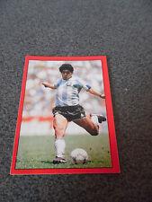 Très Rare Vintage Sticker / Vignette Panini Diego Maradona Football 87 n°447