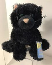 WEBKINZ-GANZ-BLACK CAT-HALLOWEEN-Plush-Hang Tag Unopened