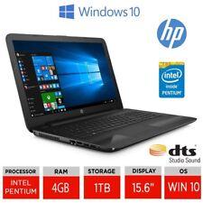 "HP 15-ay078na 15.6"" Laptop, Pentium N3710 , 4GB 1TB Win 10, 1BW60EA + FREE MOUSE"