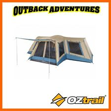 OZTRAIL FAMILY 12 DOME TENT 12 PERSON 4 ROOM CAMPING TRAVEL