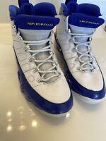 Nike Air Jordan 9 Retro Kobe Bryant PE Lakers Size 7.5 ~ 302370-121