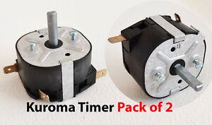 KUROMA Original Timer Pack of 2 -Kuroma Pressure fryer Parts
