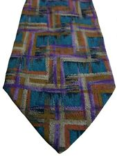 MISSONI Tie Multi-Coloured Abstract Rectangles d77a70798