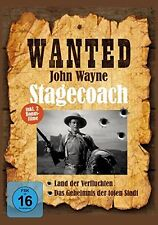 ~ DVD *  WANTED JOHN WAYNE - Stagecoach  # NEU OVP