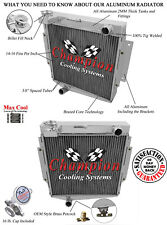 3 Row SZ Champion Radiator for 1969 - 1970 Datsun Fairlady