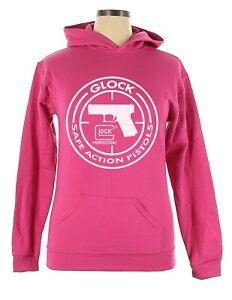 Glock Perfection Handgun Pistol 50/50 Pullover Hoodies - Fushia Pink - Assorted