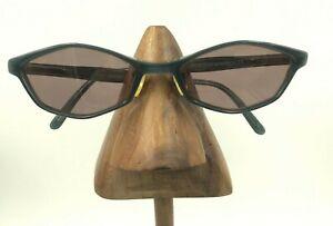 Vintage Skaga 298 Nord 4102 Dark Blue Oval Geometric Sunglasses FRAMES ONLY