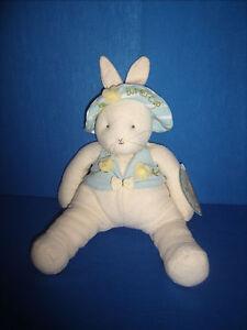 "Hallmark Bunnies By The Bay Buttercup Collector Bunny Rabbit 13"" Plush"