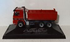 Herpa MB Actros 2640 Kipper rot Werbemodell 1:87 in PC-Box und OVP