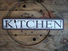 Kitchen wood sign. Handmade farmhouse decor. rustic wood sign. Home decor