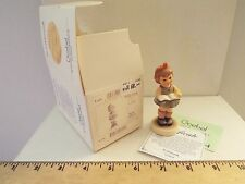 New-hummel figurine-once upon a time-girl reading #2051/A-1998-signed? 1st issue