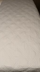 Land's End Cotton/Primaloft Quilted Blanket - Twin/Twin XL