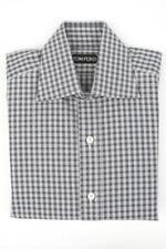 Camisas de vestir de hombre blancas Tom Ford de 100% algodón
