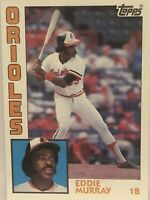 1984 Topps Eddie Murray Baseball Card Baltimore Orioles #240 NrMt-Mint HOF 1b
