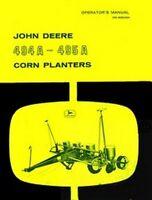 John Deere 494 A 495 A Corn Planters Operators Manual