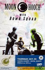 Moon Hooch / Bomb Squad 2014 San Diego Concert Poster - Jazz Fusion Music
