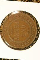 Choose your coin 1929 Australian Penny gVG // Problem