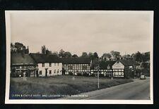Warwicks Warwickshire KENILWORTH Queen & Castle Hotel c1950/60s RP PPC