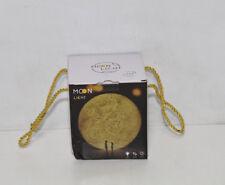 3D Mond Lampe, USB Aufladung Night Light 3D Printing Moon Lamp, Warm und Cool Wh