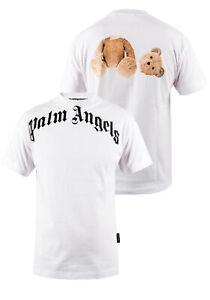Palm Angels Herren T-Shirt   BR PALM ANGELS BEAR TEE