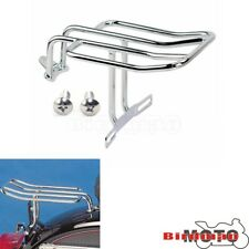 Motorcycle Chrome Steel Rear Fender Luggage Rack For Harley Sportster 883 1200