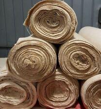 Tessuto Canapa tessuta a mano a telaio h. cm. 74 metri 16. Hemp