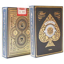 Black Artisan Playing Cards by Theory 11 - Quality USA Made Card Deck